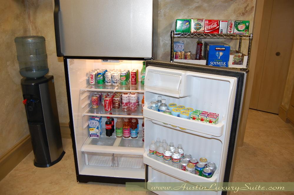 Refreshments Austin Luxury Suite