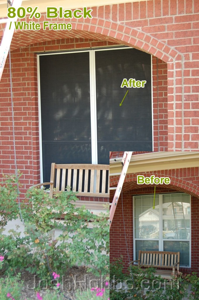 Cedar Park TX Solar Window Screen Blinds
